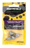 SPRO Stainless Steel Tear Dropshot Sinkers_