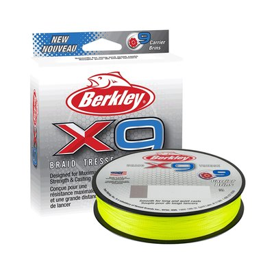 Berkley X9 Fluro Green 150 meter