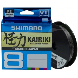 Shimano Kairiki SX 8 PE Braid Steel Grey 150 meter