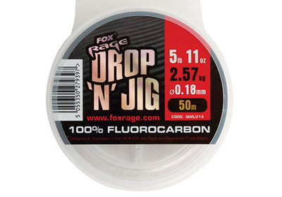 Fox Rage Drop 'N' Jig Fluorocarbon