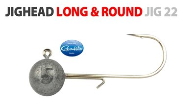 SPRO Long & Round Jighead Maat 4/0