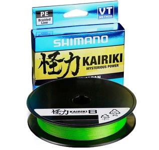 Shimano Kairiki SX 8 PE Braid Mantis Green 150 meter