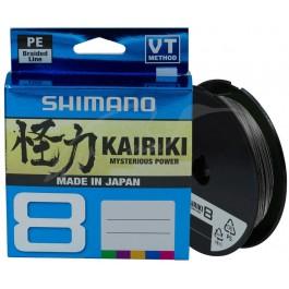 Shimano Kairiki SX 8 PE Braid Steel Grey 150 meter